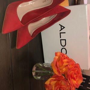 Aldo Shoes | Aldo Cassedy Red Suede